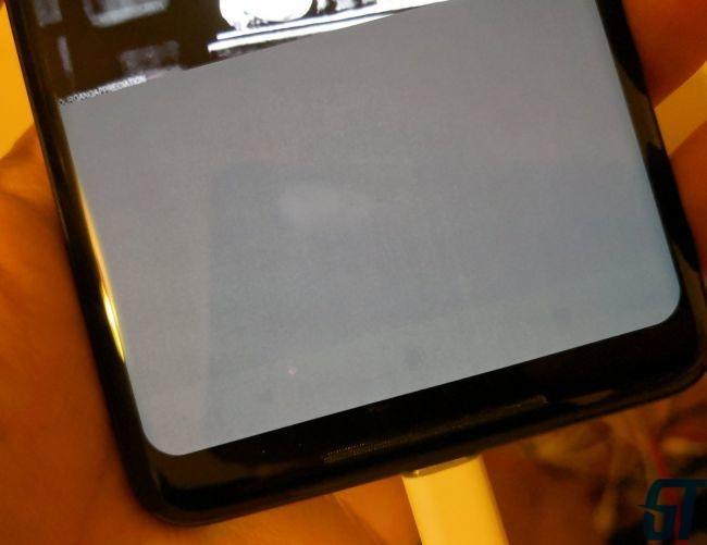 Повреждение OLED экрана Google Pixel 2 XL