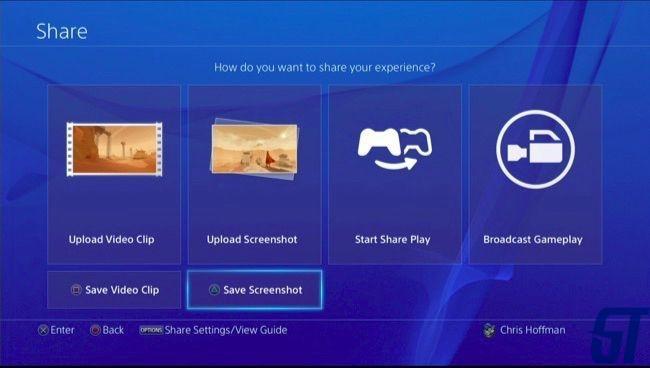 Как сохранить (или загрузить) скриншот или видео