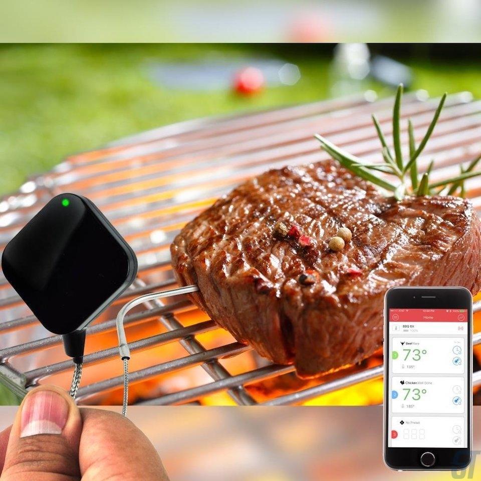Барбекю гриль-термометр NutriChef Smart Bluetooth ($ 25)