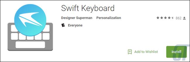 Swift Keyboard