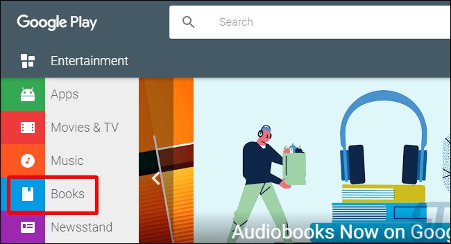 Где найти аудиокниги в Google Play