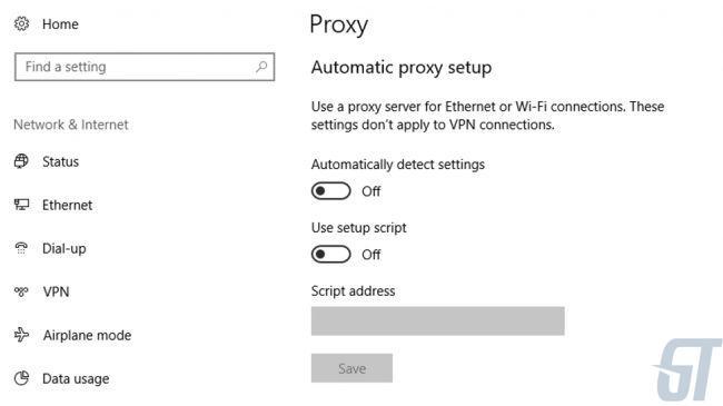 Как настроить прокси-сервер в Windows