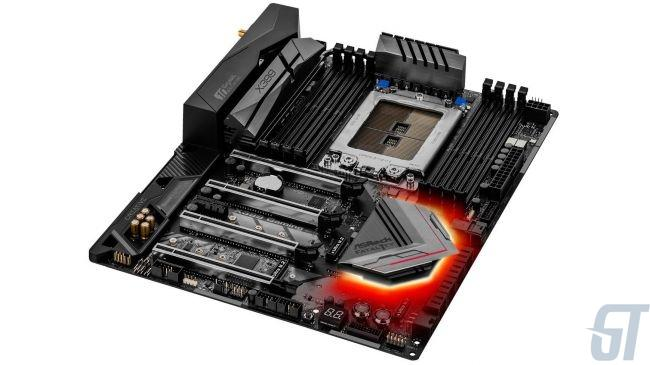 Лучшая материнская плата AMD Ryzen Threadripper: ASRock X399 Professional Gaming sTR4