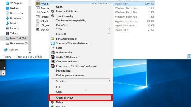 Как запустить DOS-игры на Windows 10